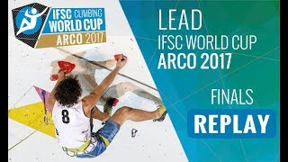 Watch all the stars in the full replay of the Lead finals at #IFSCw...