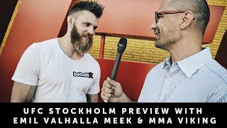 Emil Valhalla Meek - UFC Stockholm - Exclusive Interview with MMA Viking