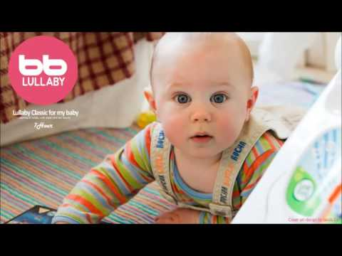 ★7HOURS★ Well Known Classical +Sound Track Lullaby For My Baby (Orgel+Rain sound)-Prenatal music