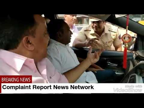 Must Watch - Mumbai Congress President Sanjay Nirupam Detained By Girgaum Chowpathy Police - CRNNews
