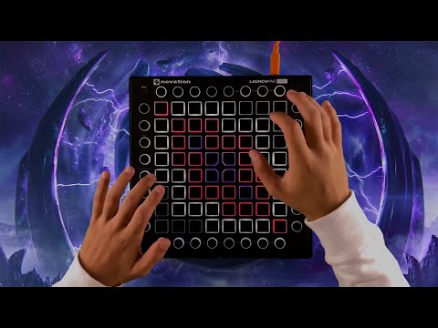 Datsik & Virtual Riot - Warriors Of The Night   Launchpad Pro Cover