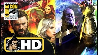 AVENGERS: INFINITY WARS Hall H Panel Reaction - #SDCC 2017