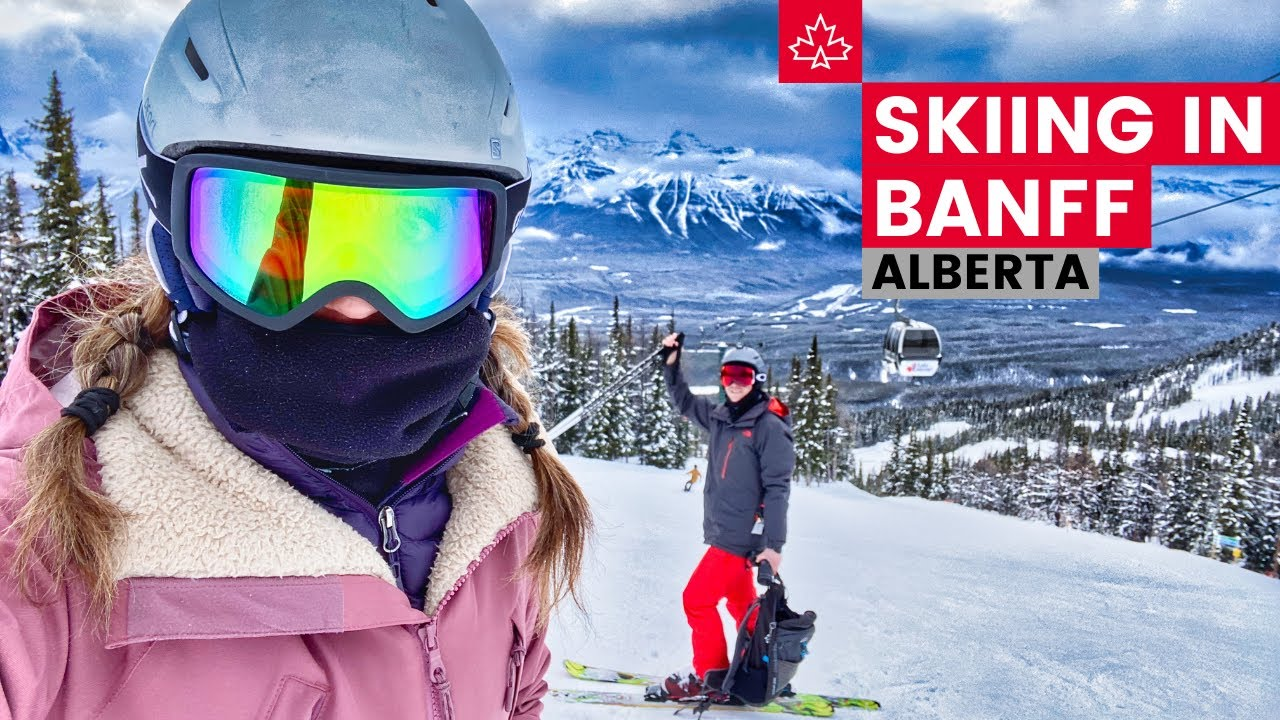 SKIING in BANFF NATIONAL PARK! Best Skiing in the World!