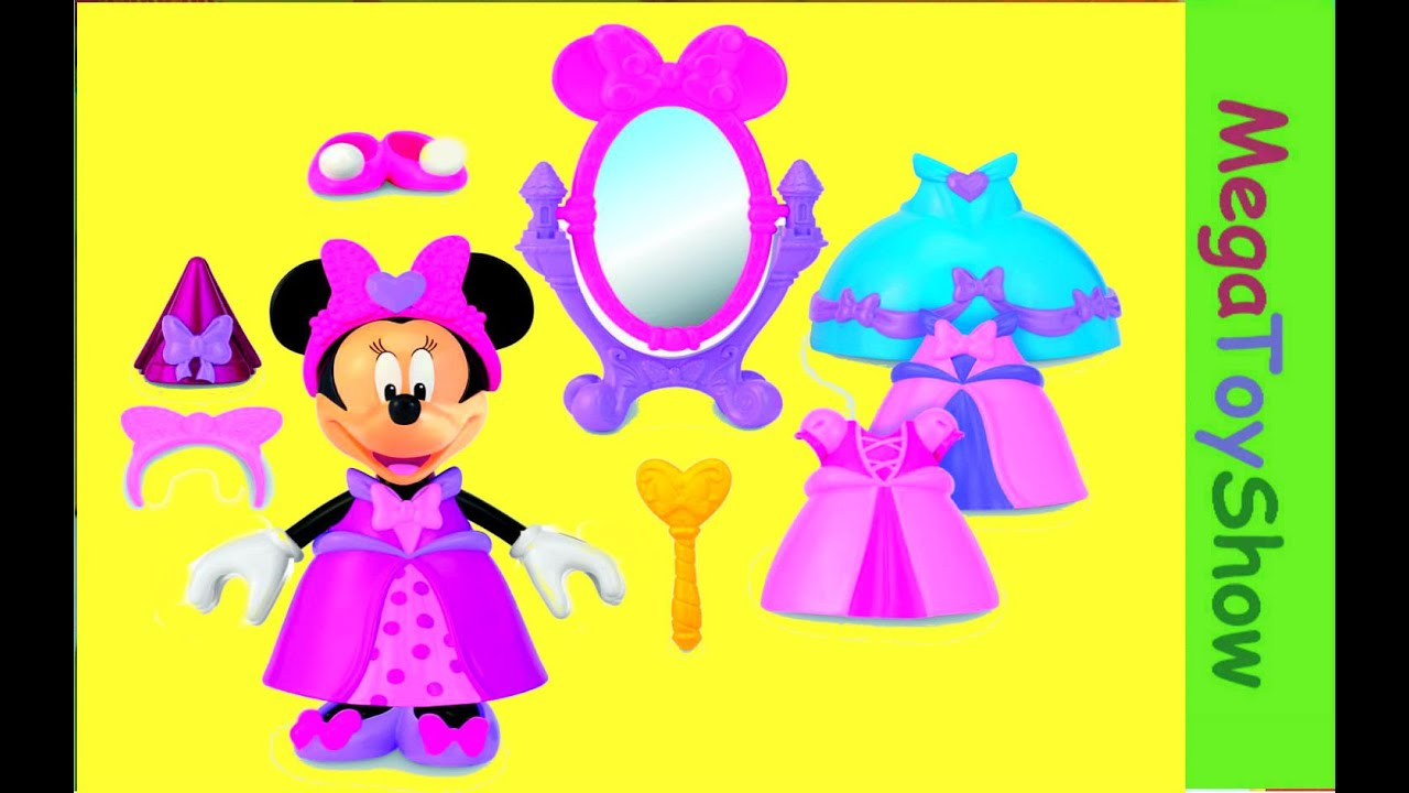 Minnie Mouse Princess Bowtique Dress up Toys for girls, babies and ...