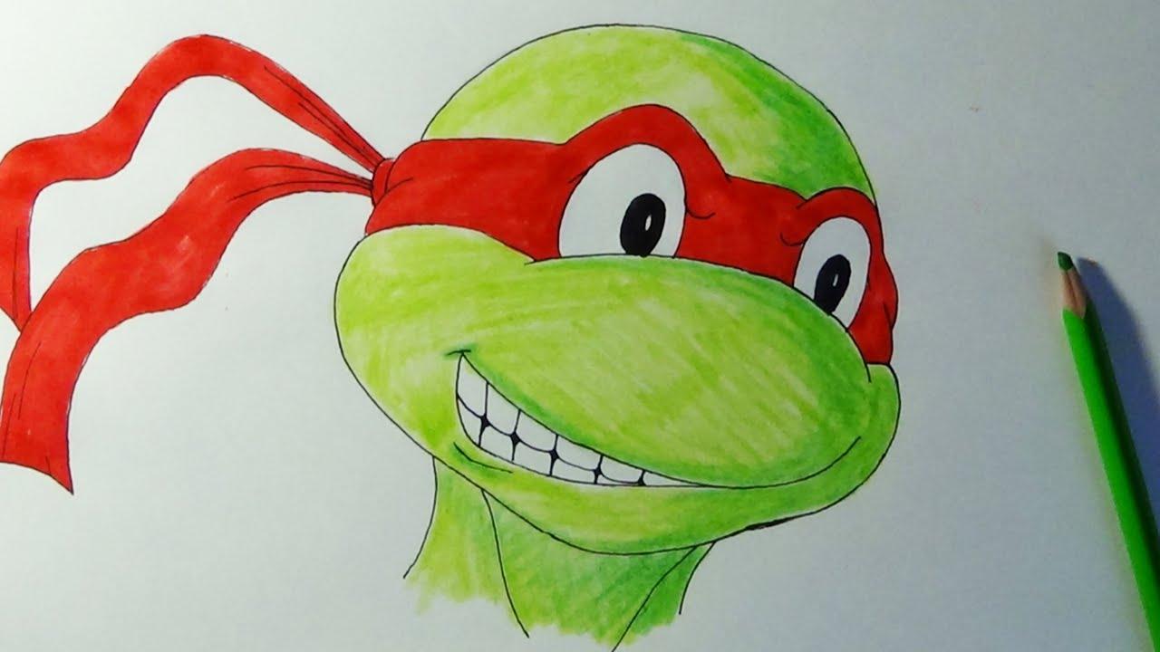 How To Draw Raphael From Teenage Mutant Ninja Turtles