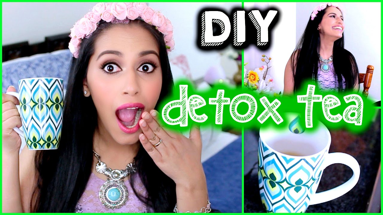 DIY DETOX TEA/Water for Weight Loss,Clear Skin,Flat Stomach SECRET (Natural Fitness) Himani Wright - YouTube