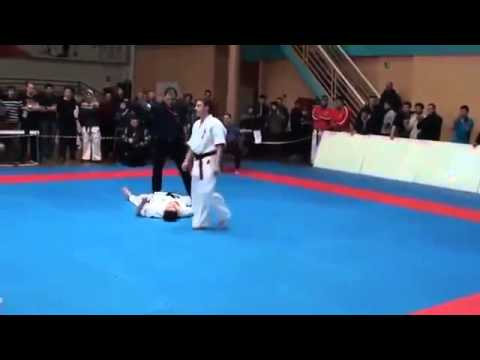 Epic Karate Knockout Best Karatte Kick Ever