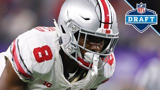 Gambar cover 2019 NFL Draft: Ohio State DB Kendall Sheffield Highlights | B1G Football