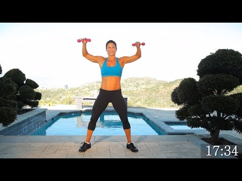 29-Minute Full Body Workout At Home - Metabolism Boosting Strength Training With Dumbbells