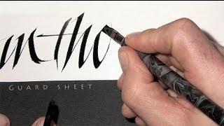 Calligraphy TV sample 1
