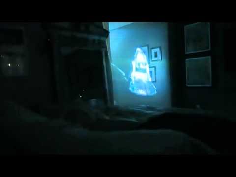 Голограмма призрак  Пранк девушки