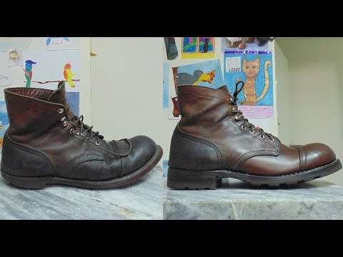 Разбираем и делаем заново Iron Ranger boots Red Wing 8111/ Disassembling and remaking Red Wing 8111