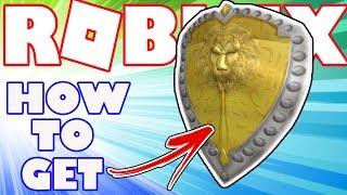 [ÉLÉMENT BONUS] Comment obtenir Noble Lion Knight Shield à Roblox - Article bonus pour l'achat de la carte Robux