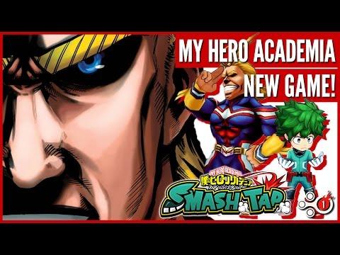 how to get my hero academia smash tap