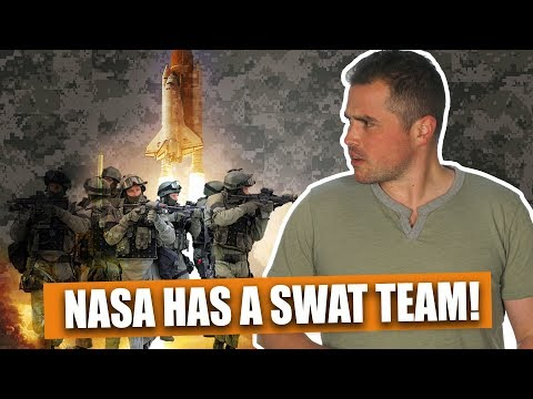 NASA has a SWAT team, and they're good