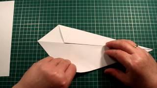 Как Сделать Бумажный Лебедь (Оригами)