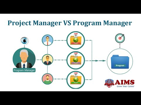 Project Manager VS Program Manager - 7 Major Differences   AIMS UK