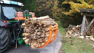 Posch Holzbündelvorrichtung [HD] - Bichler Landtechnik | #landwirt100k