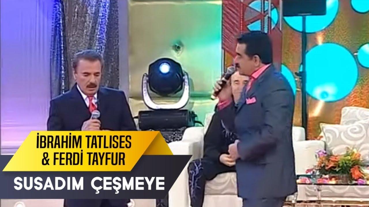 Susadım Çeşmeye   Ferdi Tayfur & İbrahim Tatlıses   İbo Show Canlı Performans