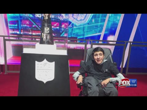 Wish Granted: South Kingstown teen having the time of his life in Atlanta