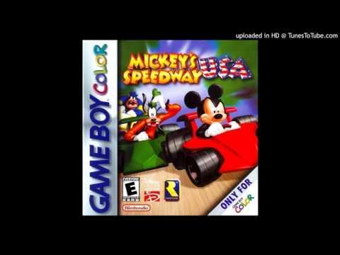 Mickey's Speedway USA GBC OST - Seattle