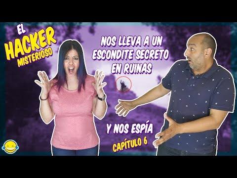 EL HACKER MISTERIOSO NOS LLEVA A UN ESCONDITE SECRETO EN RUINAS Y NOS ESPIA Game Master  Project GM