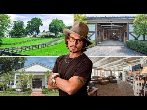 Johnny Depp's Kentucky Farm for sale | 2.9 Million | 2017 | Inside & Outside