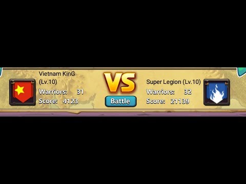 Clash Of Lords 2 Guild Clash #2