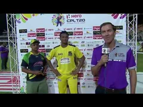 Shakib Al Hasan Man Of the Match  interview CPL T20 (Sports Crazy )