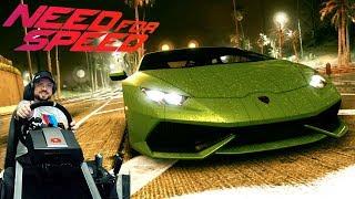 LAMBO-Вечеринка в Need for Speed 2015/2016 на руле Fanatec ClubSport