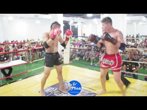 TV THAI - Rodrigo Sá ( Gladiadores ) vs Sapeka ( Força Thai Boxing ) Copa Togo de Muay Thai 2