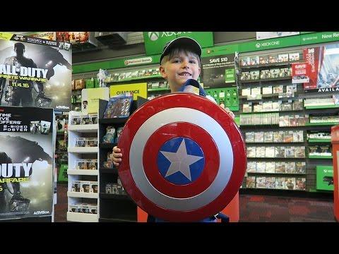 Playing Games Buying Gaming Toys At GameStop USA Minecraft