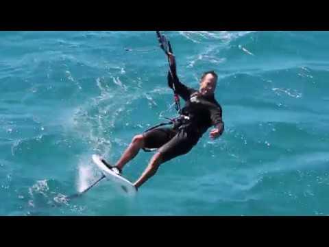 2. KITE / FOIL SURFING VISITOR - The flying vet VISITS AGAIN