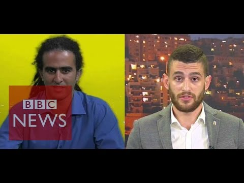 Palestinian rapper & Israeli campaigner debate escalation of violence – BBC News