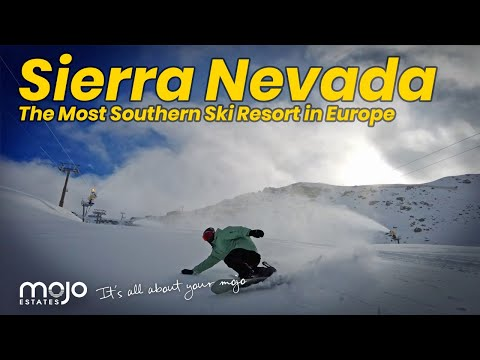 The Most Southern Ski Resort in Europe! | Sierra Nevada Spain 2020