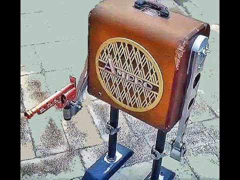Robot Speaker Cabinet, Part 1: Design & Fabrication