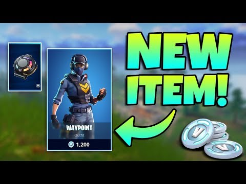 NEW SIGNAL HUB REACTIVE BACKBLING + WAYPOINT SKIN / Fortnite Battle Royale Live / 238+ Wins