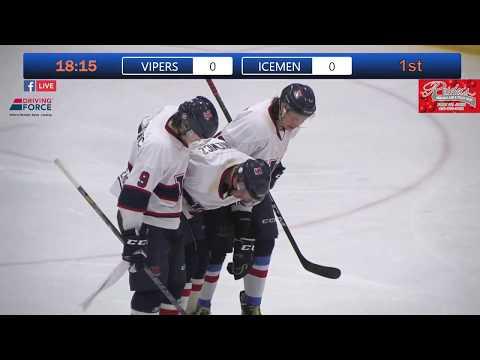 Semi Final Of The Junior B Provincials Vipers Vs Icemen