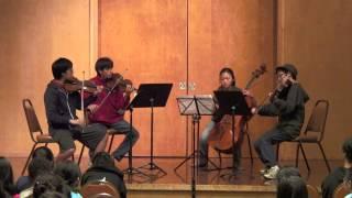 Dvorak Quartet in Eb, Op. 51- IV. Finale: Allegro assai
