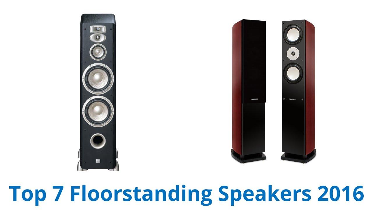 7 Best Floorstanding Speakers | Fall 2016