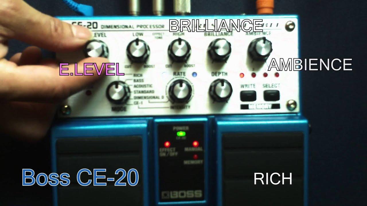 Boss Ce 20 : boss ce 20 youtube ~ Vivirlamusica.com Haus und Dekorationen