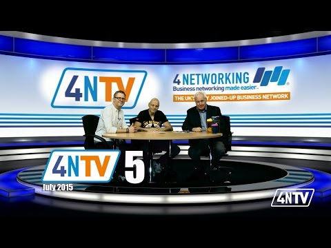 Brad Burton and Matt Richardson 4NTV Programme 5