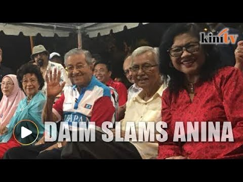 Daim: Who is this bloody woman?