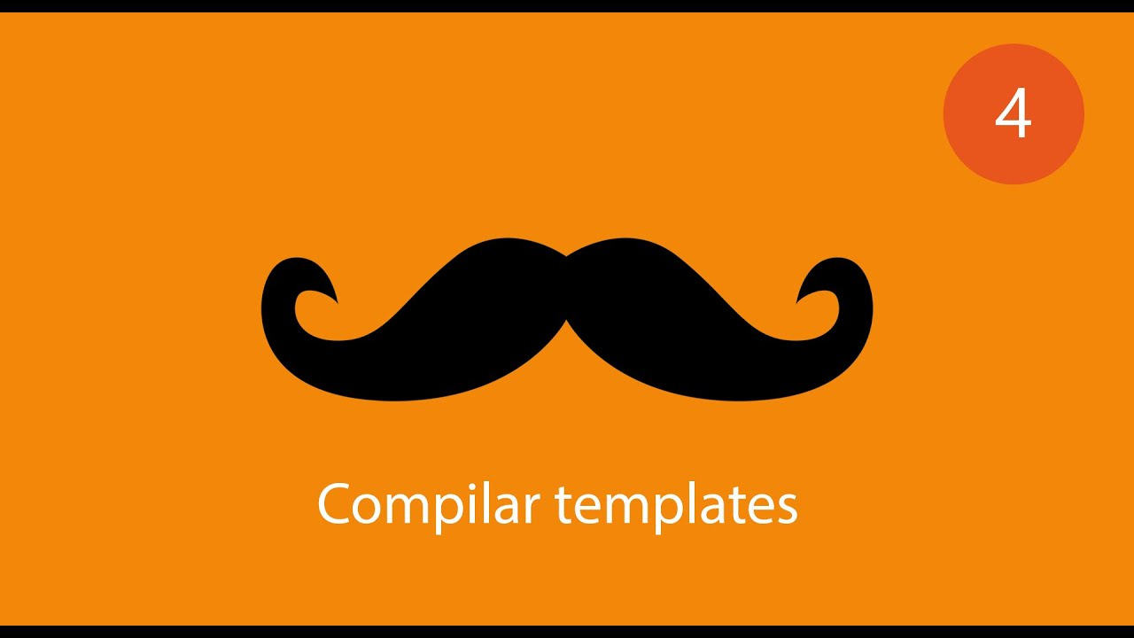 tutorial handlebars javascript 4 compilar templates youtube