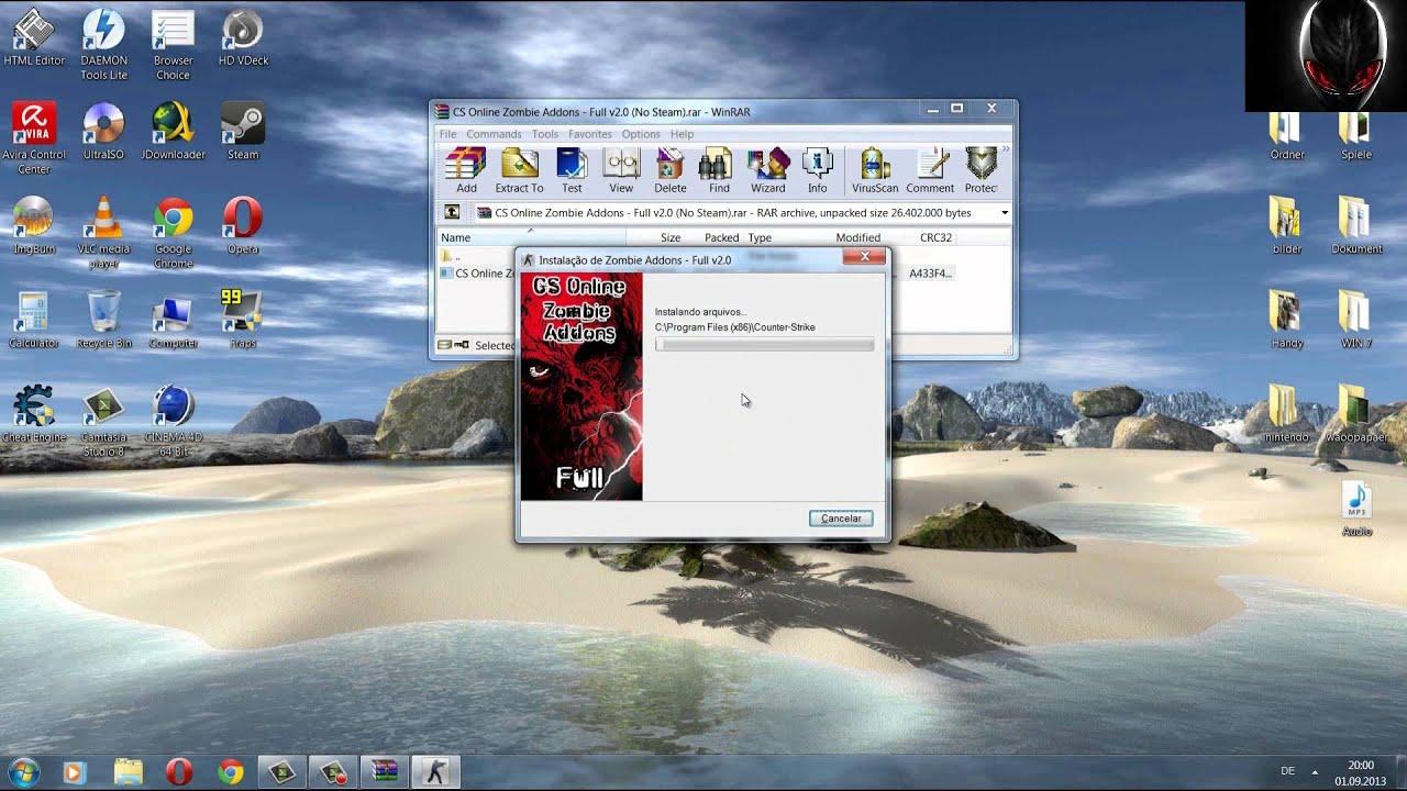 Counter Strike 1.6 моды скачать
