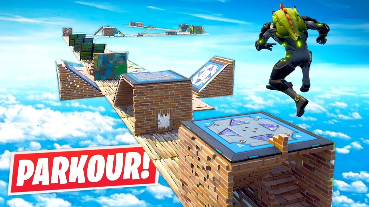 Fortnite // SKY HIGH PARKOUR!!
