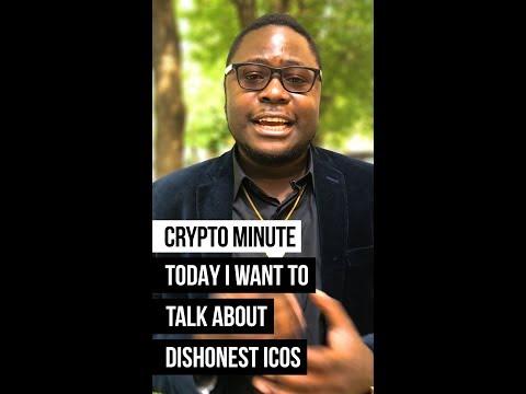 Dishonest ICOs | Crypto Minute