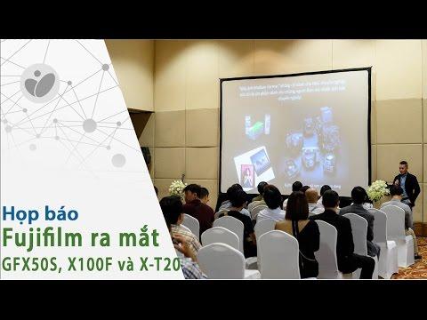 Buổi ra mắt Fujifilm GFX 50S, X100F và X-T20 chính hãng tại Việt Nam