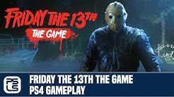 Friday The 13th: The Game PS4 Gameplay