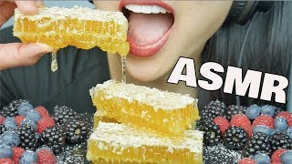 ASMR RAW Honeycomb (EXTREME EATING SOUNDS) NO TALKING | SAS-ASMR
